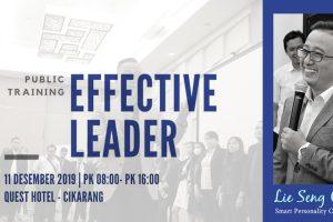 Public Training Effective Leader