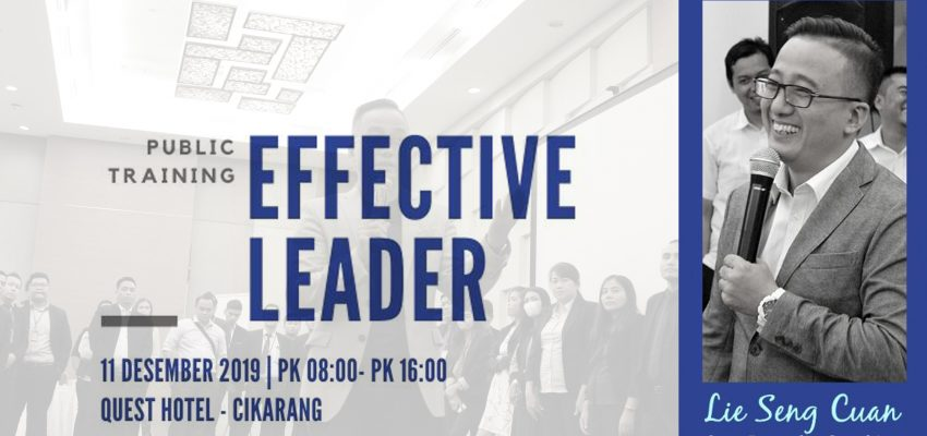 Public Training Effective Leader